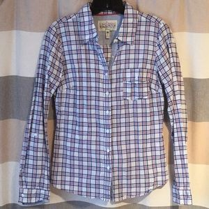 Tops - Fitted Plaid Button Down